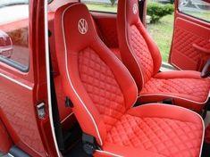 Volkswagen Volkswagen Beetle – Olczakcom Whippin' It Vw Bus, Vw T1 Camper, Volkswagen Type 3, Automotive Upholstery, Car Upholstery, Vw Super Beetle, Custom Car Interior, Vw Classic, Vw Beetles