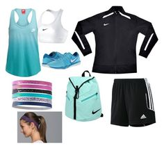 """""""Sporty"""" by mollyruth-1 ❤ liked on Polyvore featuring interior, interiors, interior design, home, home decor, interior decorating, adidas, NIKE and lululemon"""