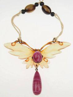 necklace by Elizabeth Bonte, c. 1900
