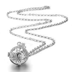 EUDORA Sterling Silver Angel Pregnancy Bola Harmony ball Baby Chime Bell Pendant & Silver Chain Necklace Eudora http://www.amazon.com/dp/B015SU2O0K/ref=cm_sw_r_pi_dp_-nyswb0M50VPN