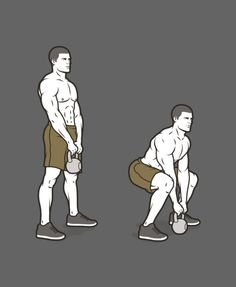 B4. Kettlebell Deadlift