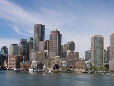 Boston Harbor ~ Boston, MA. I miss it!