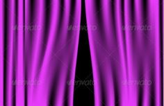 Buy Luxury Purple Curtain by Logvinyk on GraphicRiver. Luxury creases purple curtain and many shadows (vector) Purple Curtains, Ikea Curtains, Cool Curtains, Colorful Curtains, Custom Made Curtains, Display Design, Display Ideas, Backdrops, Romantic