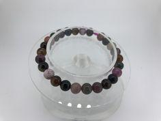 110 Crt Natural Top Tourmaline  beads bracelet  NATURAL TOURMALINE GEMSTONE BRACELET   FROM GEMROCKAUCTIONS.COM