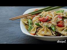 How to Make Sesame Pasta Chicken Salad - Get the recipe for Sesame Pasta Chicken Salad at http://allrecipes.com/recipe/sesame-p...