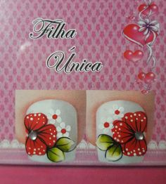 Más Flower Nail Designs, Pedicure Designs, Toe Nail Designs, Toe Nail Art, Toe Nails, Sunflower Nail Art, Cute Pedicures, One Stroke Painting, Nail Stickers