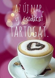 My Spirit, Coffee Time, Good Morning, Latte, Tea Cups, Life Quotes, Lettering, Motivation, Tableware