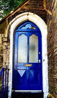 Windermere blue door ~ Cumbria, England