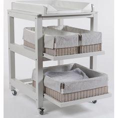 Table à langer Quax Cubo Comfort - Nebbia