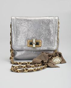 Classic Happy Crossbody Bag, Pale Gold by Lanvin at Bergdorf Goodman.