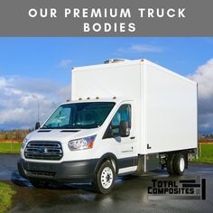 Ideal for any truck body manufacturing company. Just ask us how we can save you production time, labour costs and provide your customers with a premium product! www.totalcomposites.com