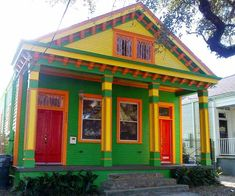 house exterior after multicolor paint job, most outrageous remodels from the search for america's best remodel 2014