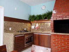 Cozinha Externa - Florianópolis / SC (de Ponta Cabeça - Arquitetura Criativa)
