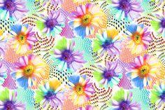 Anallop Disseny 16317 Flores frescas de primavera, margaritas de mil colores. Azul, amarillo, lila... Transmites la frescura en cada movimiento. La lycra se posa suavemente sobre tu cuerpo dejándote respirar... Queremos ayudarte con nuestras lycras a crear la mejor colección de la temporada. Facebook: https://www.facebook.com/SwimwearFabricsAnnaLlopDisseny?ref=hl