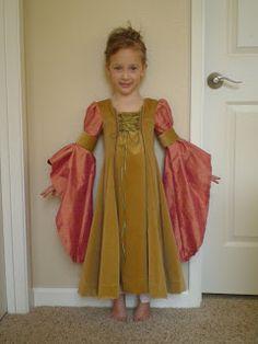 homespun: Renaissance Princess Dress