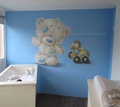Stickers mural chambre bébé Tatty Teddy, Nursery Room, Nursery Decor, Room Decor, Blue Nose Friends, Murals For Kids, Bedroom Night, Murals Street Art, Baby Memories