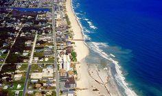 Kure Beach in Pleasure Island North Carolina