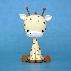 Crumb Avenue Tutorials Baby Giraffe   For sugar paste, but could be adapted for polymer clay as well.
