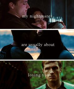 Peeta and Katniss http://posthungergamessyndrome.tumblr.com/