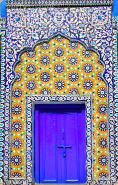 Beautiful Indian Inspired Door