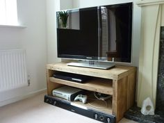 Qube Double TV Stand - Eat Sleep Live