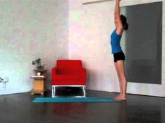 Sun Salutations with Tara Stiles (posted 11/2011, 6 mins)