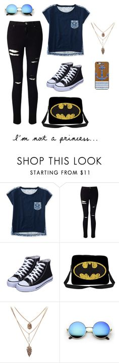"""""""I'm just me"""" by cake9 ❤ liked on Polyvore featuring Aéropostale, Miss Selfridge and Casetify"""