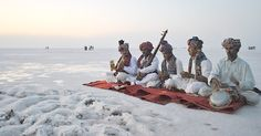 A riot of colour sprinkled on the white salt desert. A quirky profusion of design, as far as the eye can see. A fascinating blend of culture; peeping from the folds of a semi-arid landscape. The deafening quiet of the night, pierced only by the haunting notes of a Surando. The mesmeric, twirli...