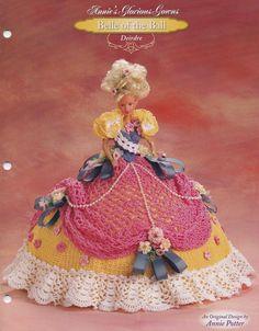 Deirdre Annie's Attic häkeln Mode Puppe Kleidung Muster