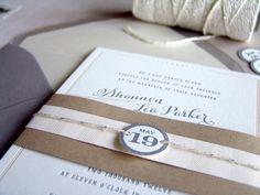 Wedding Invitations by Studio SloMo via Oh So Beautiful Paper (4)