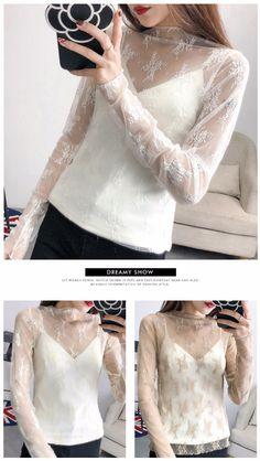 1f6925002b559 BUY NOW 2.52  Ruoru Women Sexy Harajuku Mesh Net See Through T Shirt Hollow  Transparent Undershirt Star Base Top Camisas Femininas Clubwear  decoration  ...