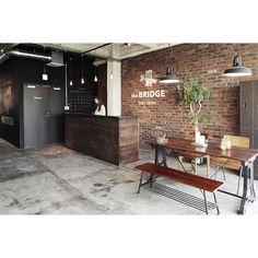 05 Hair Salon Interior, Salon Interior Design, Home Salon, Shop Interiors, Office Interiors, Cafe Design, House Design, Rustic Salon, Barbershop Design
