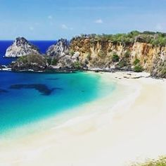 Fernando de Noronha in is fabled as an eco-wonderland and a beach-lovers' Brazil Holidays, Largest Countries, Trip Planning, South America, Wonderland, Paradise, National Parks, Wildlife, Wanderlust