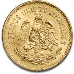 Moneda de oro 5 pesos Mexicanos., Tienda Numismatica y Filatelia Lopez, compra venta de monedas oro y plata, sellos españa, accesorios Leuch...