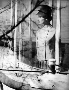 Bonnie Trompeter, Paris.  Photography Jeanloup Sieff