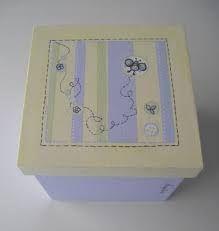Resultado de imagen para cajas de fibrofacil con cajoncitos pintadas