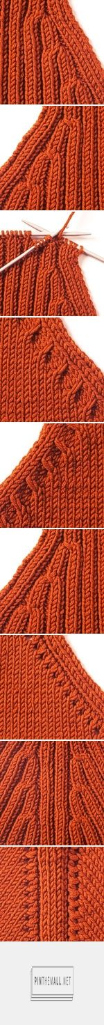 Knitting Tip - Accentuated Decreasing - created via http://pinthemall.net