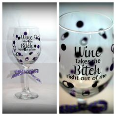 by request Custom Wine Glasses, Personalized Wine Glasses, Tableware, Dinnerware, Tablewares, Dishes, Place Settings