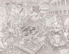 #fineart #surreal #pencildrawing