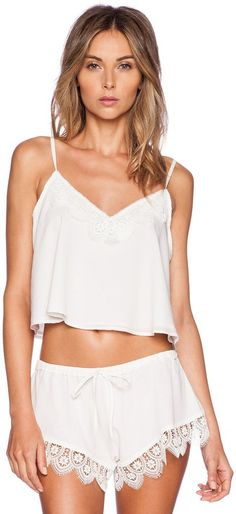 Pin for Later: 60 Gorgeous Lingerie Pieces You'll Actually Feel Sexy In  Lovers + Friends Breakfast in Bed Camisole ($78)