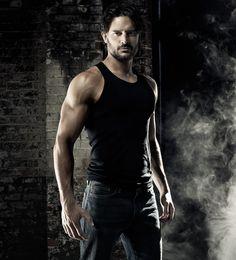 Joe Manganiello. Muscle shirt.. beard
