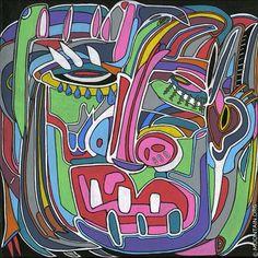 M.U.K. Larger, Fine Art Prints, Facebook, Image, Creative, Artist, Instagram Posts, Artwork, Abstract Paintings
