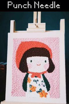 Felt Diy, Felt Crafts, Diy Crafts, Sewing Diy, Sewing Crafts, Sewing Projects, Diy Crochet Bag, Letter A Crafts, Punch Needle