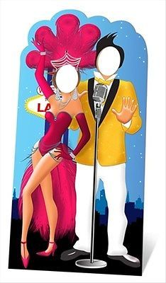 Las Vegas Standin Cardboard Cutout - Great for photo ops Casino party  parties!