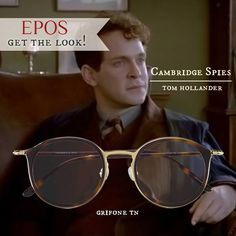 Recreate the atmosphere of Cambridge Spies with Grifone with EPOS eyewear for a stylish journey through time.