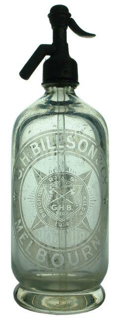 Auction 25 Preview | 248 | Billson Melbourne St Kilda Axes Soda Syphon