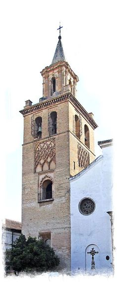 Tower of Church of Omnium Sanctorum in Seville - Andalusia, Spain Spain And Portugal, Historical Architecture, Andalusia Spain, World, City, Building, Seville Spain, Monuments, Urban Landscape