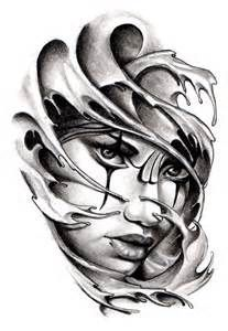 chicano girl drawings outline - Yahoo Image Search Results