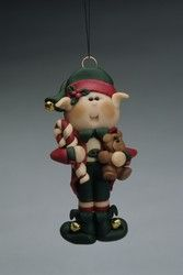 Love this little elf ornament