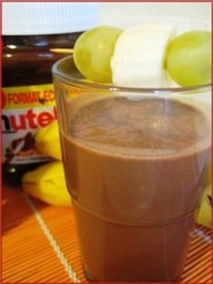 Smoothie banane-Nutella